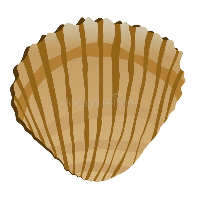 раковина моря иллюстрация вектора
