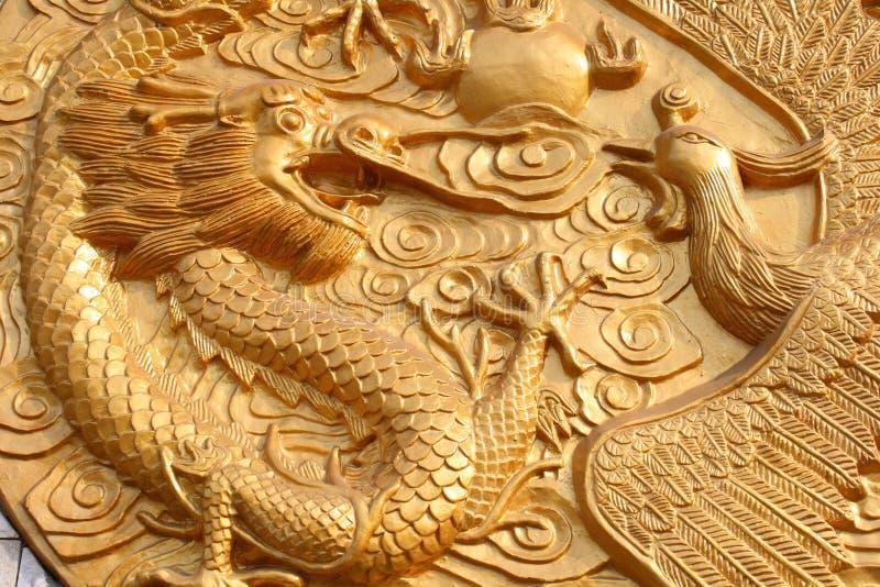 дракон phoenix стоковое изображение rf