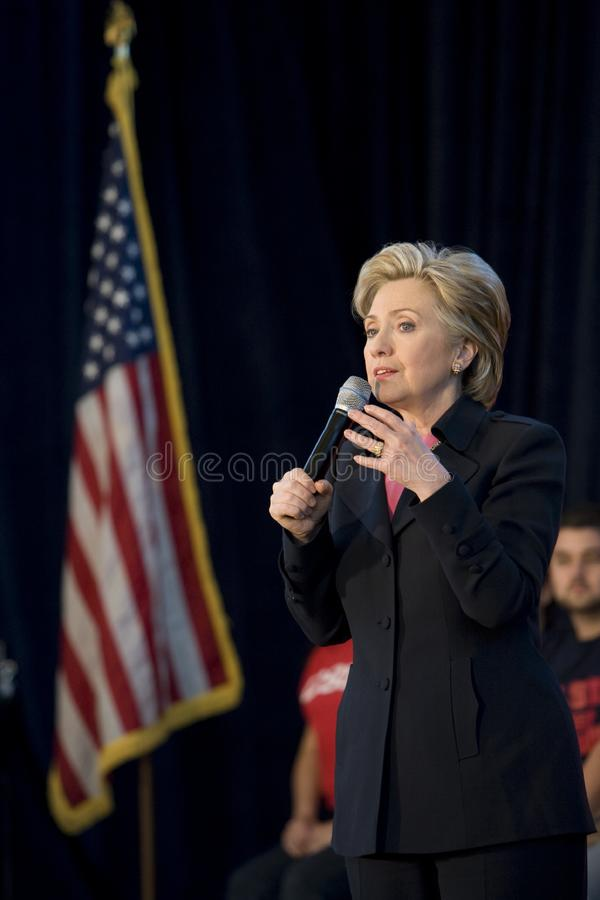 ралли 13 Клинтонов hillary стоковые изображения rf