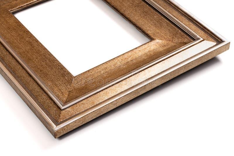 Рамка богато украшенного винтажного стиля золотая стоковые фото