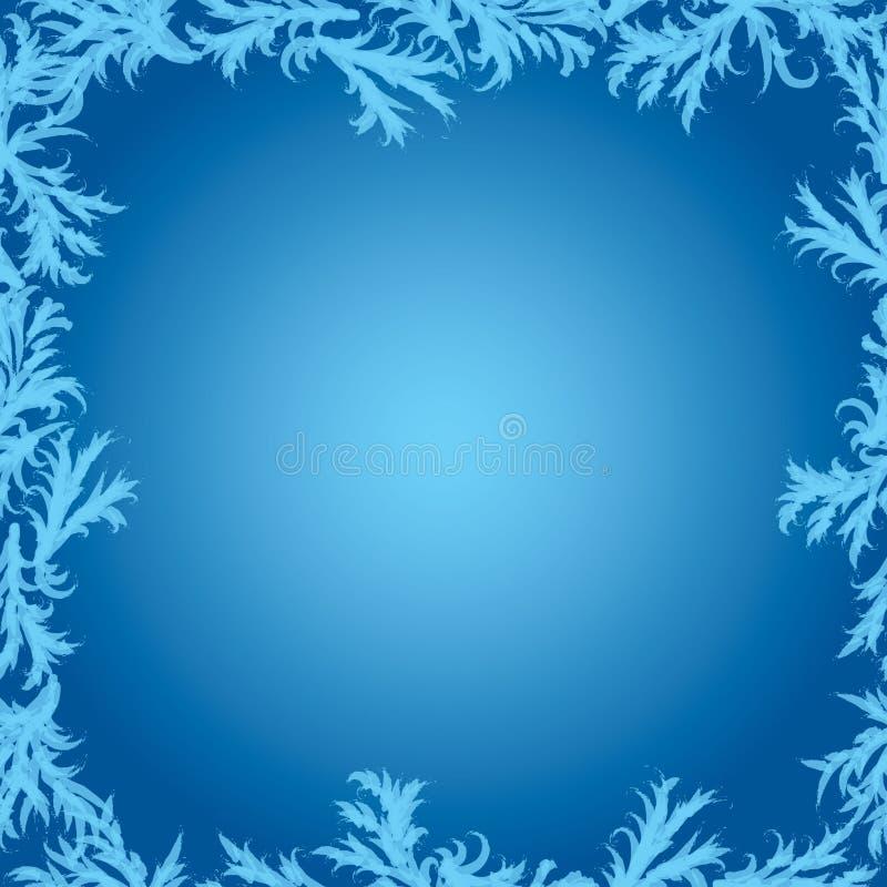 Рамка вектора картин заморозка иллюстрация вектора