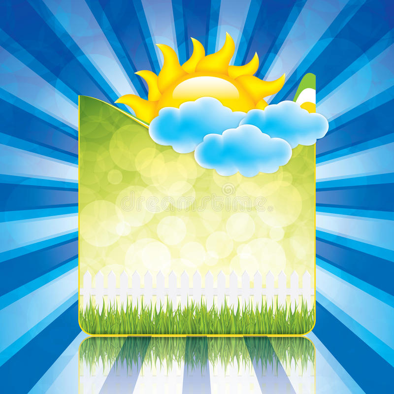 Рамка весны иллюстрация вектора