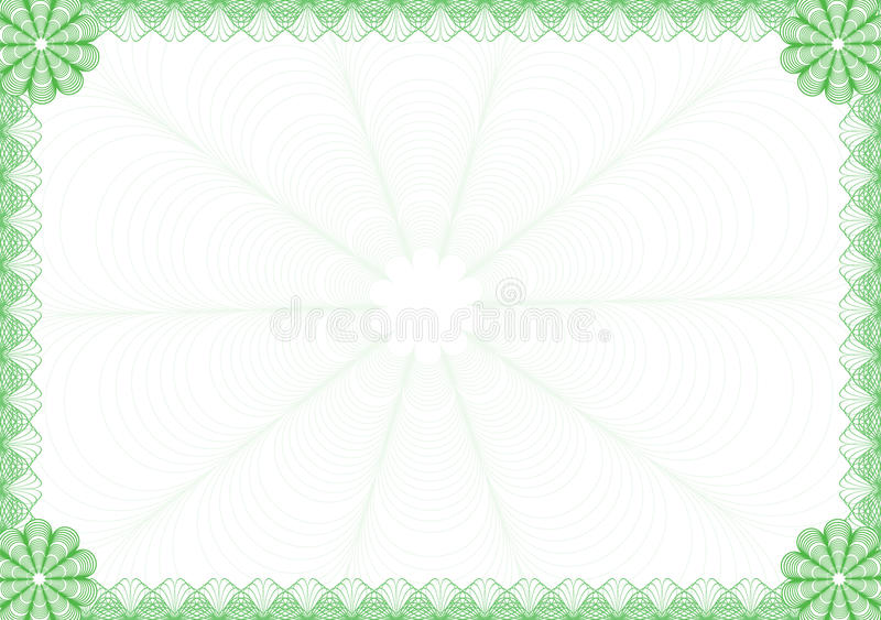 рамка диплома бесплатная иллюстрация