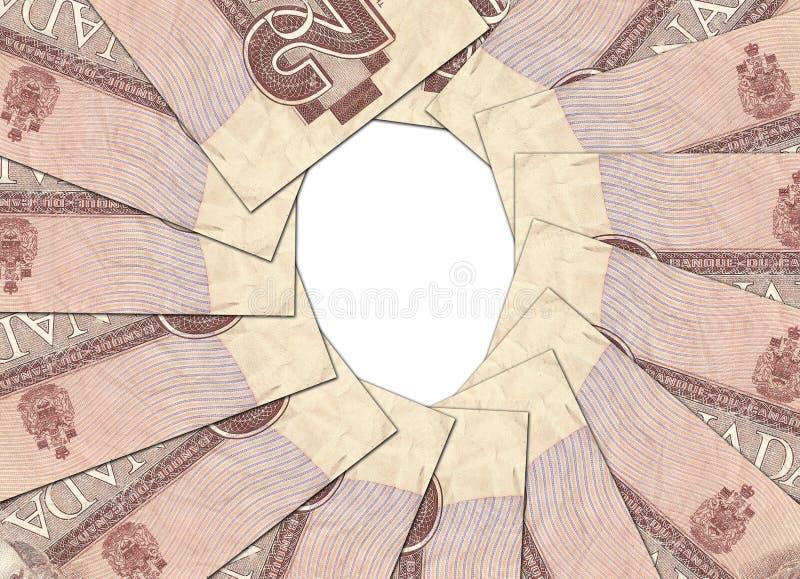 Рамка денег стоковая фотография rf