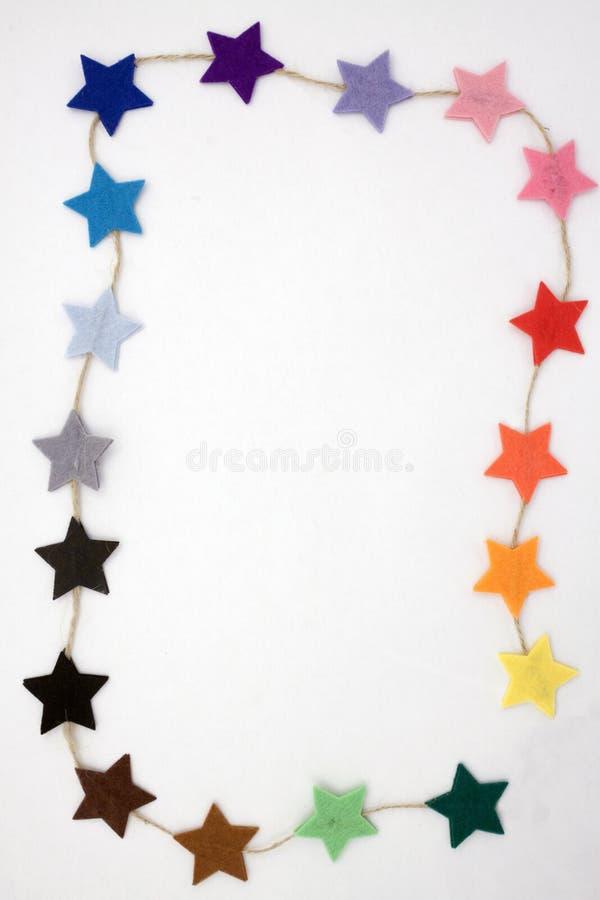 Рамка звезд стоковые изображения rf