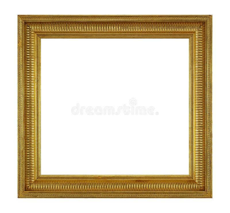 Рамка золота деревянная стоковые изображения rf