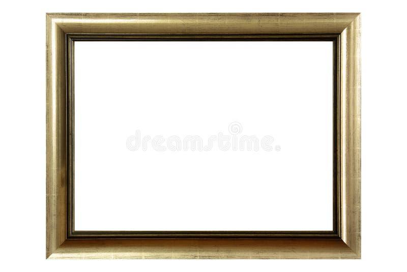 рамка золотистая стоковое изображение