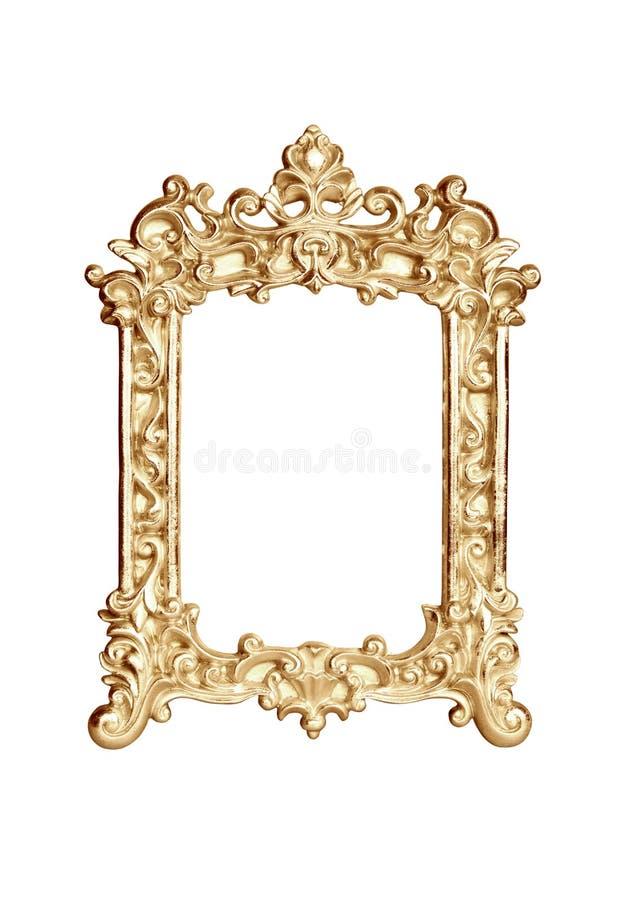 Рамка золота стоковое фото