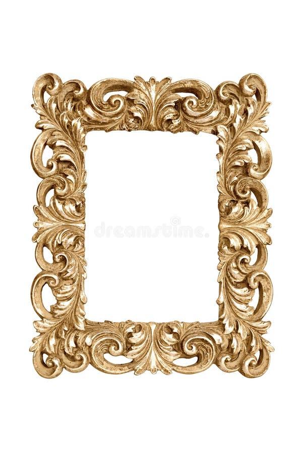 Рамка золота стоковая фотография rf