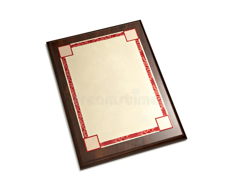 Рамка диплома стоковое фото rf