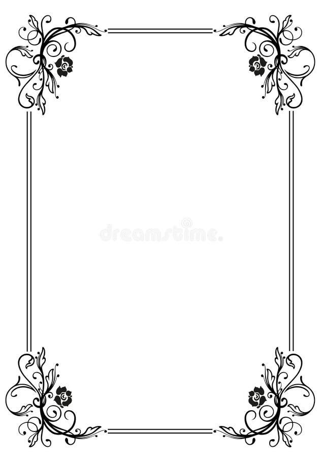 Рамка, листья бесплатная иллюстрация