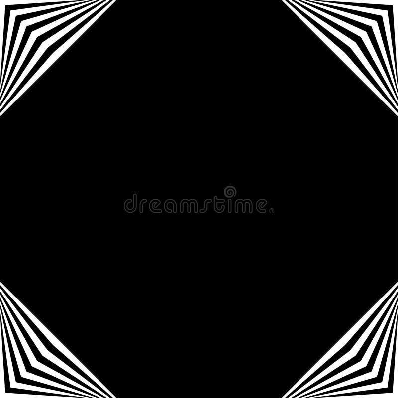 Download Рамка квадратного формата геометрическая, элемент границы с украшением на Иллюстрация вектора - иллюстрации насчитывающей квадрат, геометрическо: 81812274