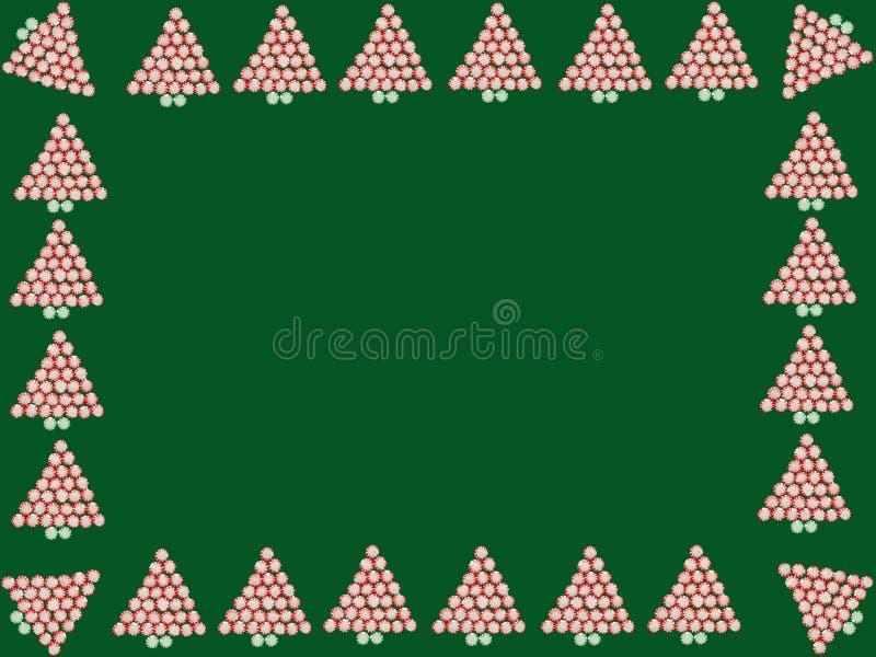 Рамка конфеты пипермента стоковое фото rf