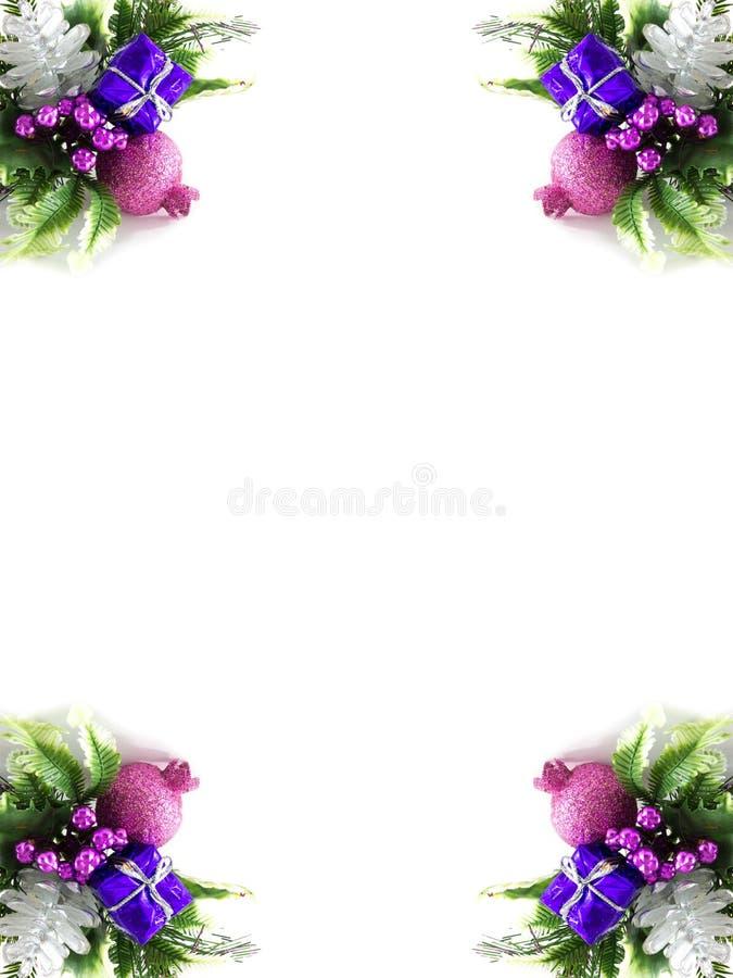 Рамка Кристмас стоковое изображение