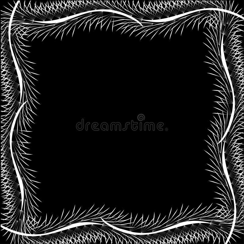 Download рамка пер иллюстрация вектора. иллюстрации насчитывающей бобра - 18398689