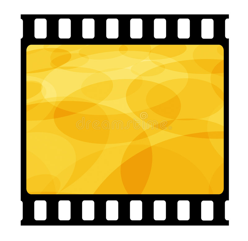 рамка пленки 35mm иллюстрация вектора