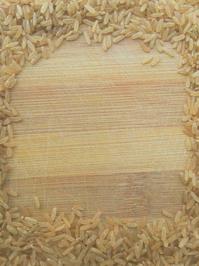 Рамка риса Брайна стоковое изображение