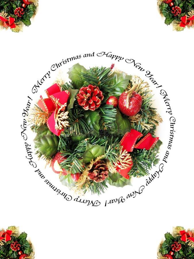 рамка рождества веселая стоковое изображение rf