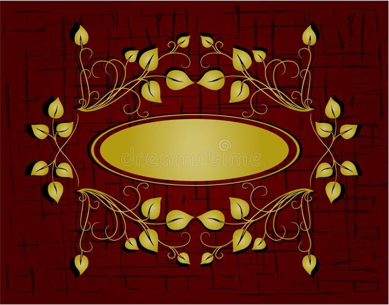 Рамка сбора винограда бесплатная иллюстрация