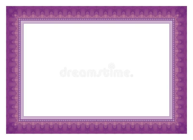 Рамка сертификата - граница бесплатная иллюстрация