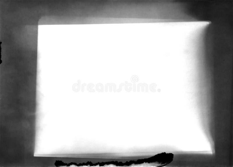 Рамка - старая фотографическая бумага - слой для редактора фотографий стоковое фото