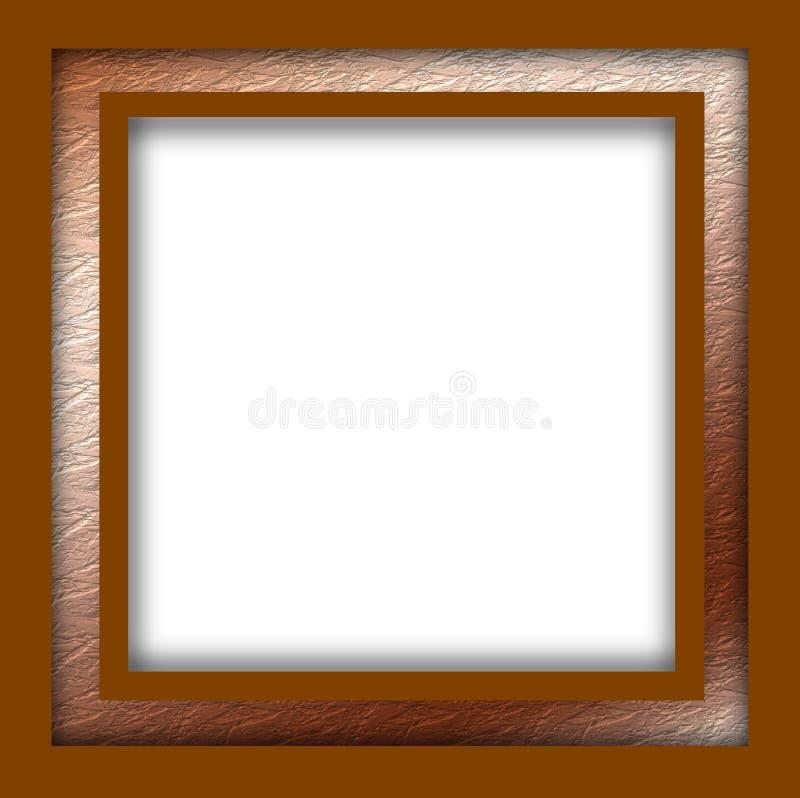 Рамка с goldborder стоковая фотография rf