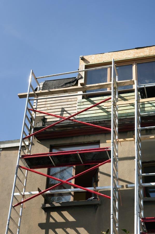 Рамка тимберса крыши стоковое фото