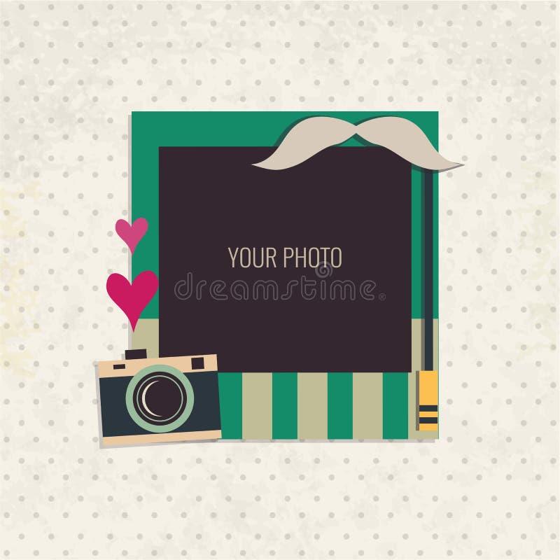 Рамка фото вектора бесплатная иллюстрация