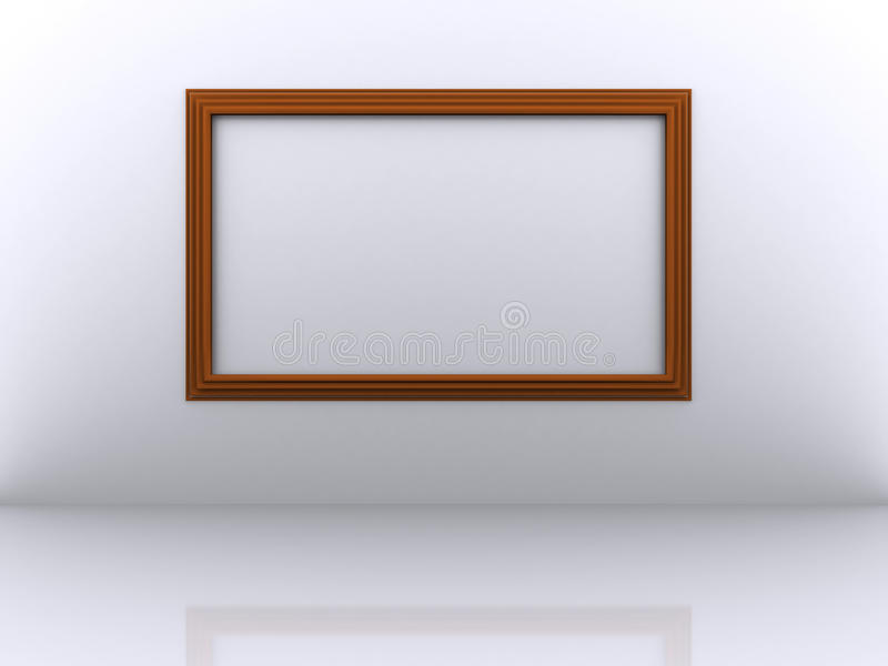 Рамка фото. иллюстрация штока
