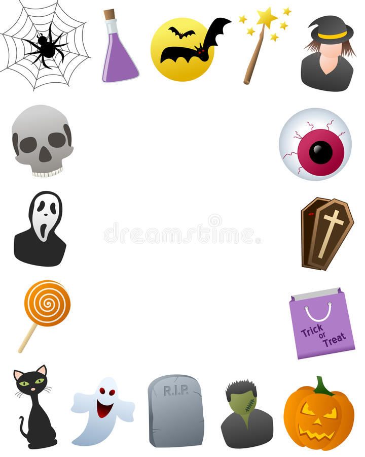 Рамка фото Halloween бесплатная иллюстрация