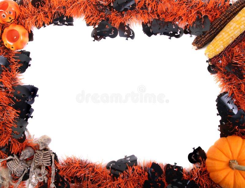 Download Рамка хеллоуина стоковое фото. изображение насчитывающей изолировано - 33733068