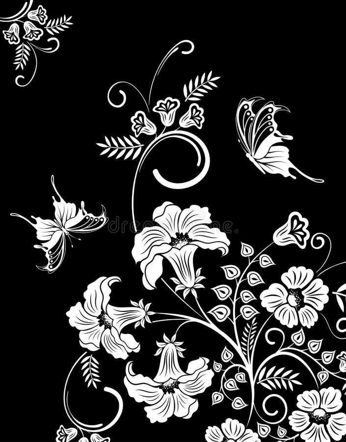 рамка цветка бесплатная иллюстрация