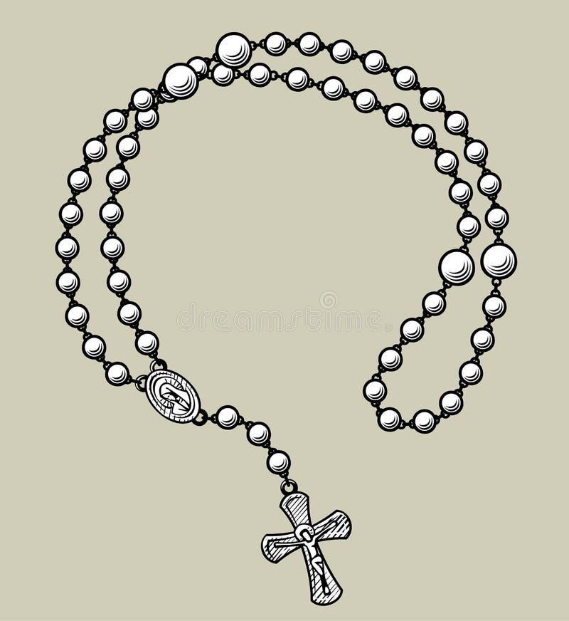 Рамка шариков молитве круглая бесплатная иллюстрация