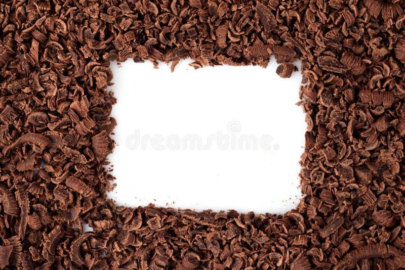 рамка шоколада стоковое изображение rf