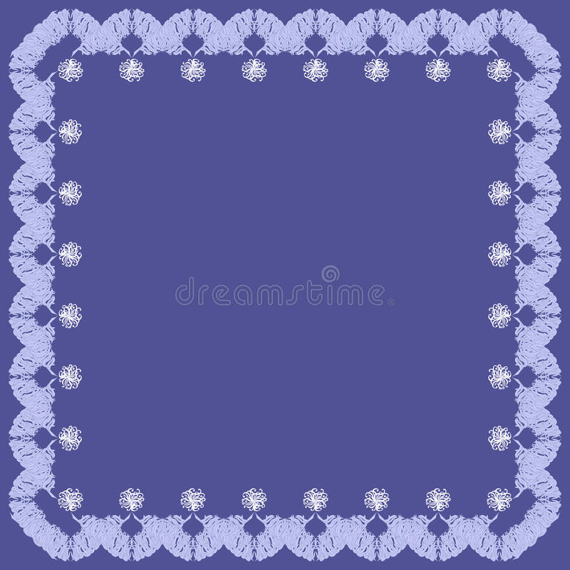 рамка элементов предпосылки голубая декоративная бесплатная иллюстрация