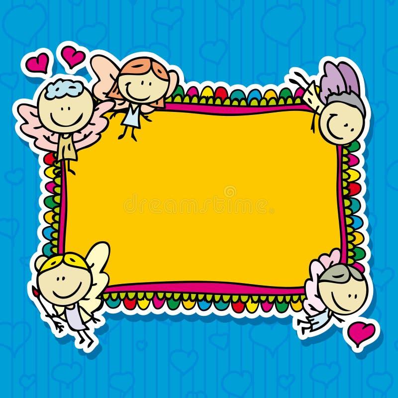 Рамка Doodle иллюстрация штока