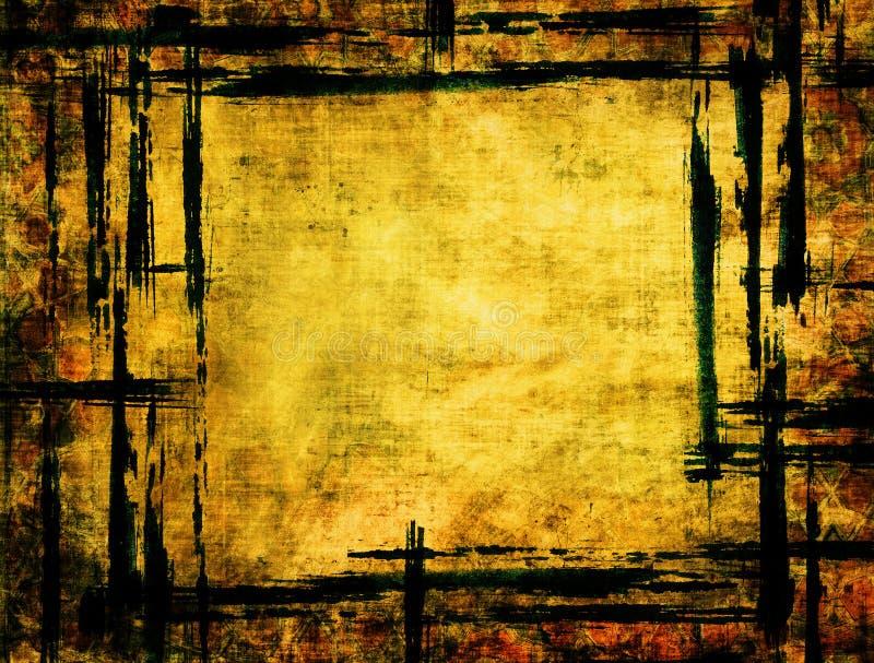 Рамка Grunge иллюстрация штока