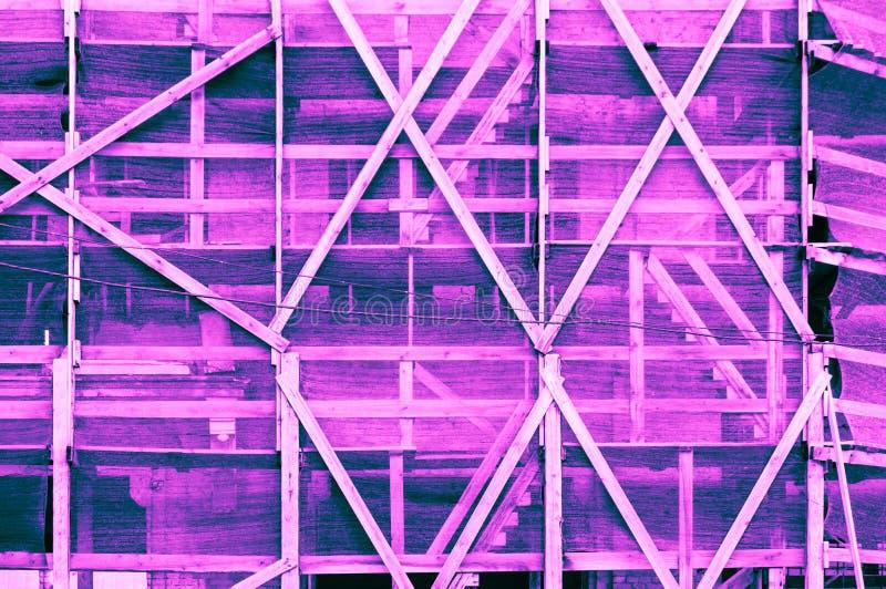 Рамки впечатляющей розовой голубой purplish бирюзы сизоватые фиолетовые стоковое фото rf