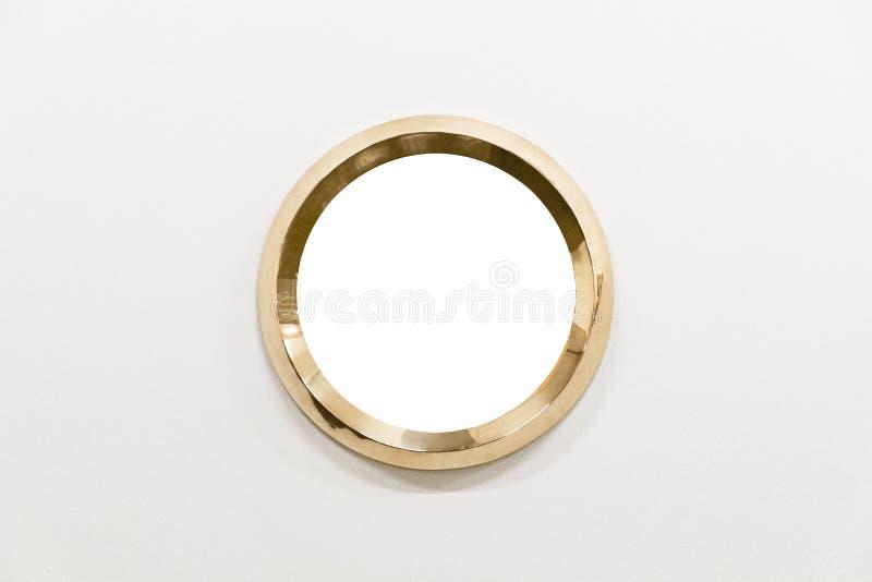 Рамки металла на белой предпосылке стоковая фотография rf