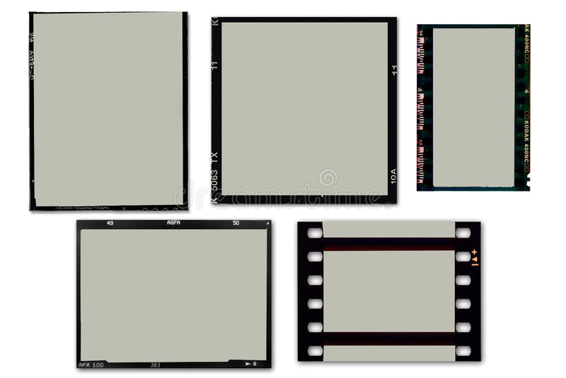 рамки пленки иллюстрация вектора
