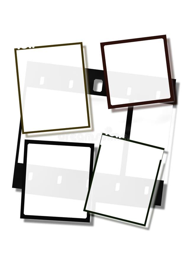 рамки пленки ii иллюстрация штока