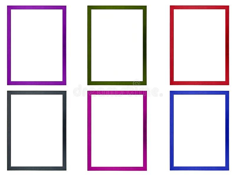 Рамки покрашенного фото иллюстрация вектора
