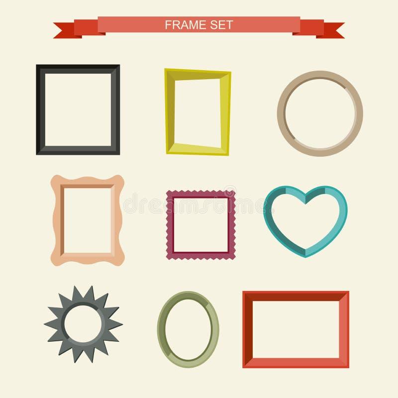 Рамки фото иллюстрация вектора