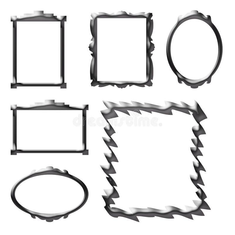 рамки иллюстрация вектора