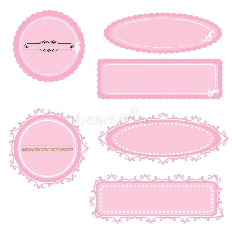 Рамки Wedding 05 бесплатная иллюстрация