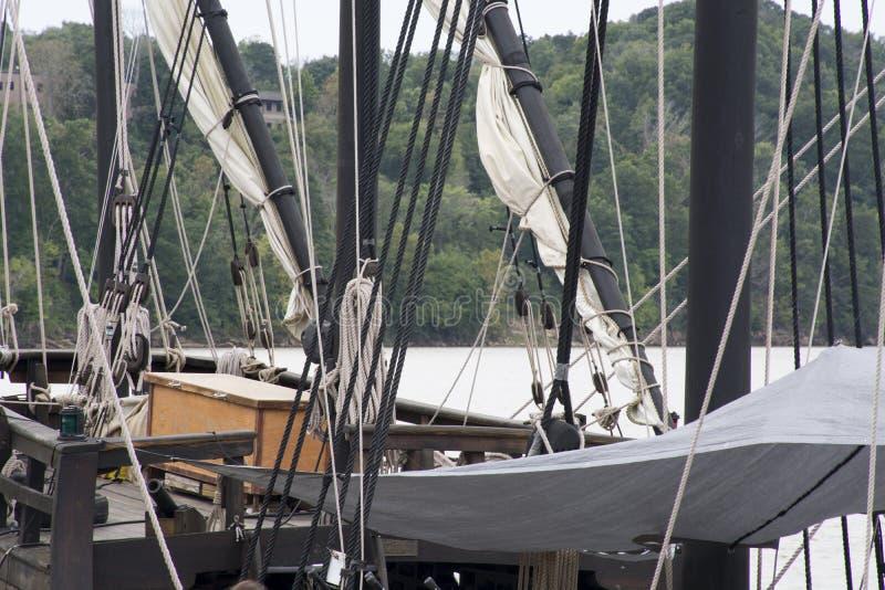 Рангоуты высокорослого корабля стоковое изображение