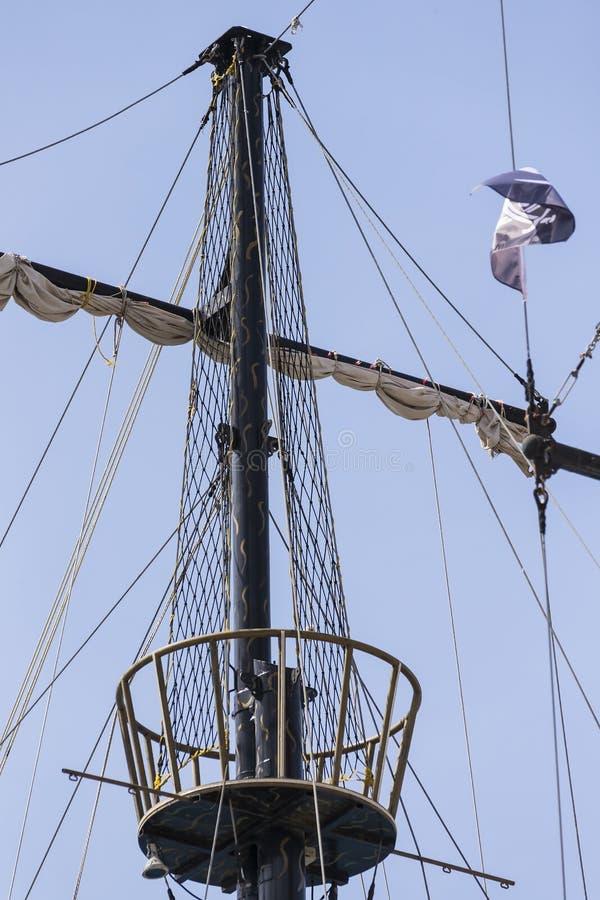 Рангоуты кораблей и стоковые фотографии rf