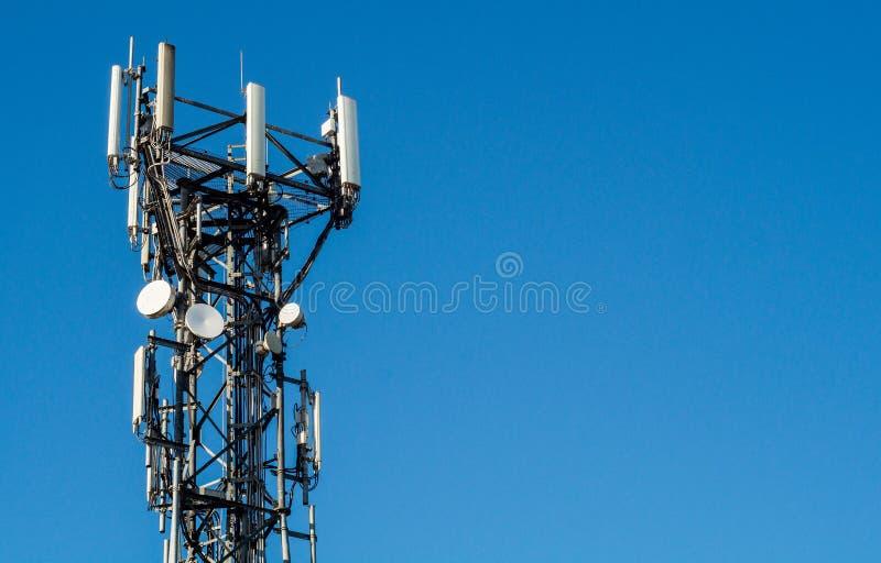 Рангоут мобильного телефона стоковое фото rf
