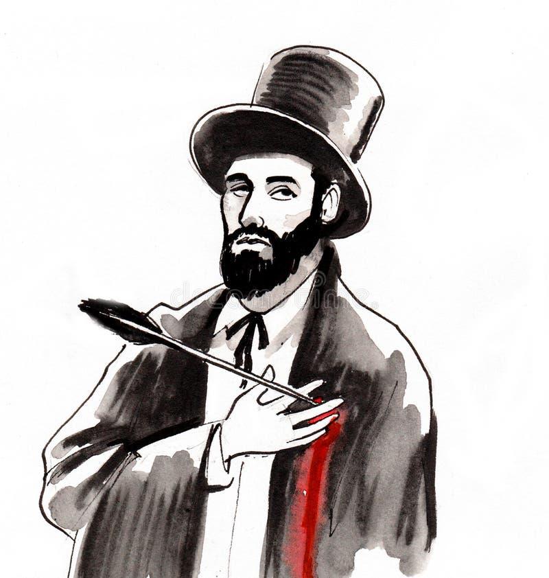 раненный человек бесплатная иллюстрация