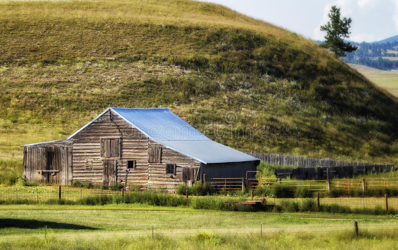 Ранчо Дакоты стоковая фотография rf